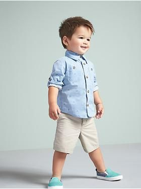feee6bed66cc9 Spring summer toddler boy outfit inspiration - old navy