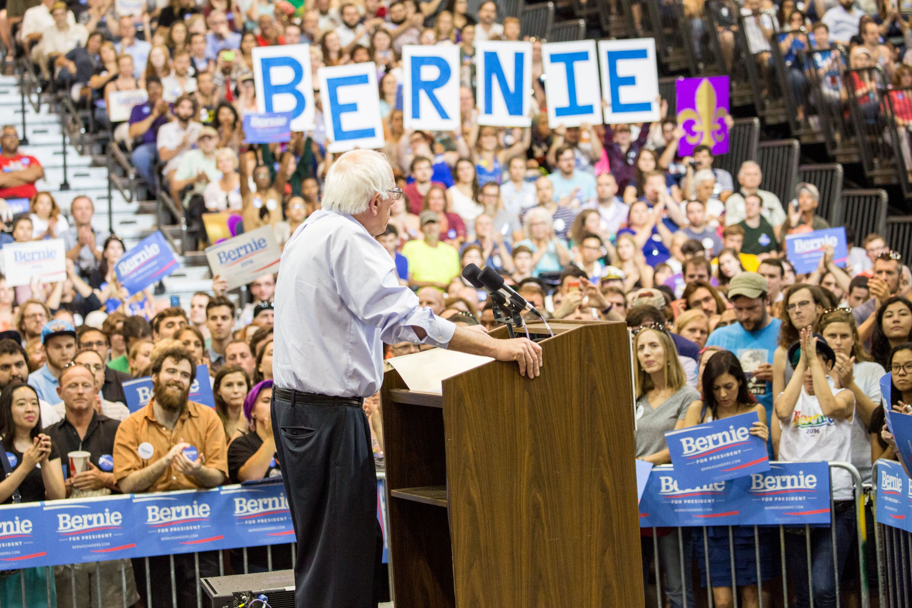 Image result for bernie sanders rally