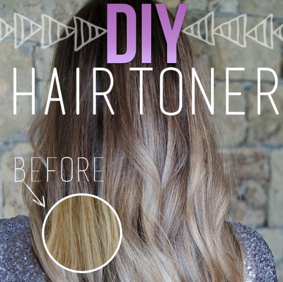 Diy Toner Brassy Hair Diy Hair Toner Hair Toner