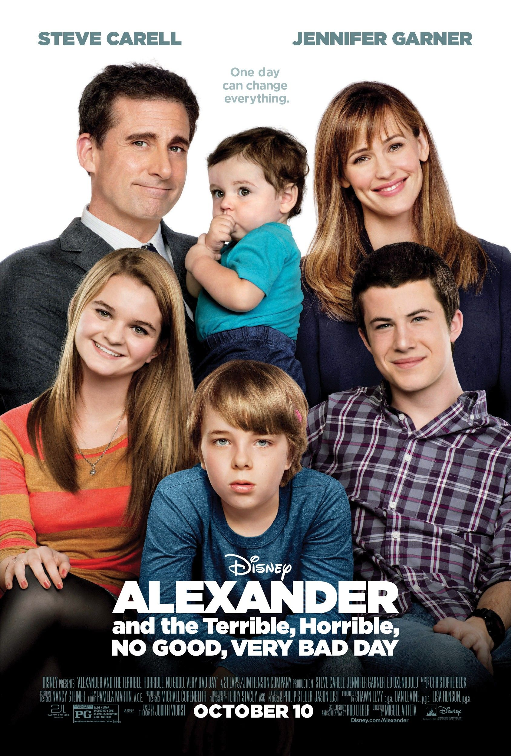 ''Alexander and the Terrible, Horrible, No Good, Very Bad Day''.