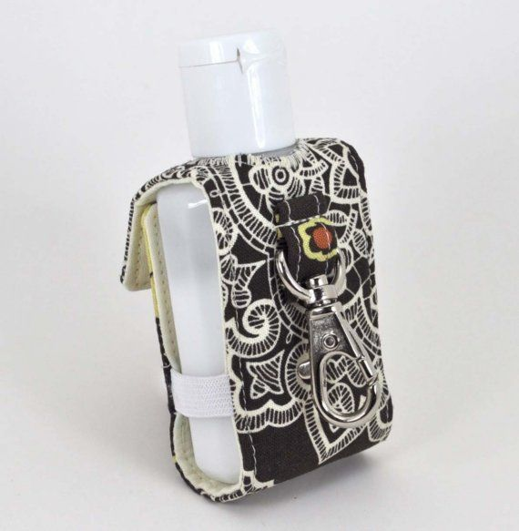 Keychain Hand Sanitizer Holder By Rhyahpapaya On Etsy Hand