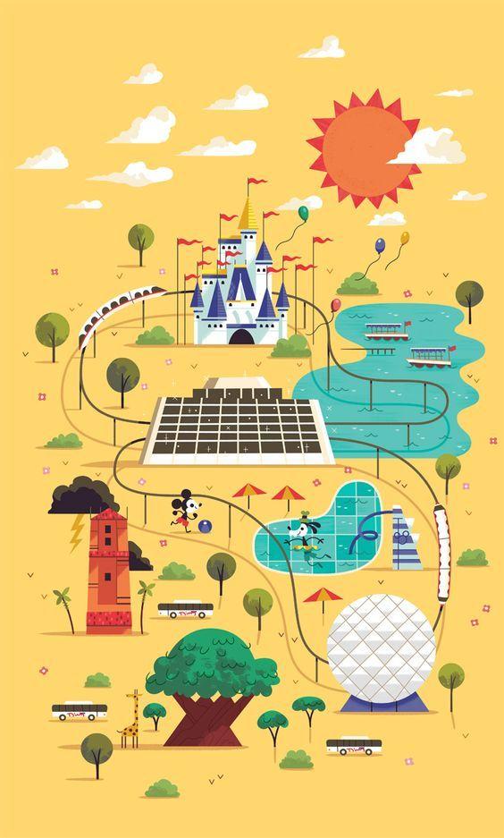 Pin By Alyssa Barcena On Disney Vintage Disney Art Retro Disney Vintage Disney Posters