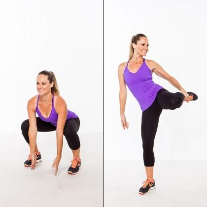 6 Moves for Slimmer Hips and Thighs: Sculpt your lower body while challenging your core and zapping fat