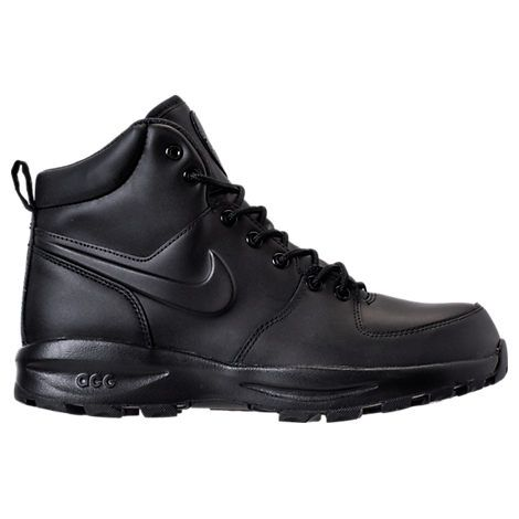 Men's Nike Manoa Leather Boots (With images)   Leather boots