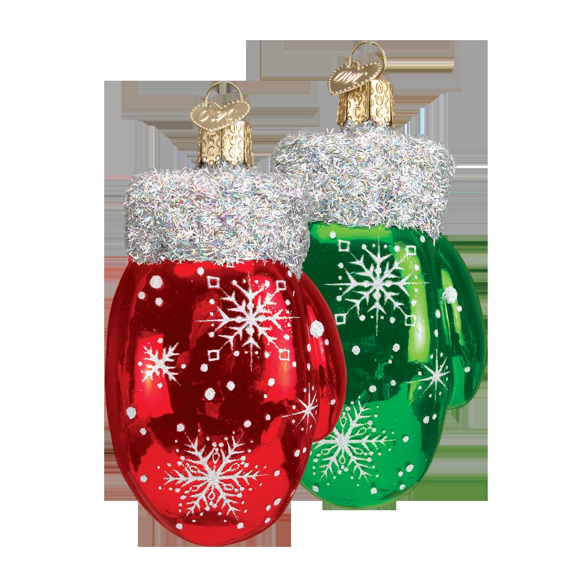 christmas ornament - Christmas Mittens