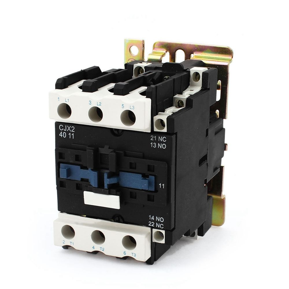 Rated Current 40a 3poles 1 Nc 1no 220vac Coil Voltage Ac Contactor Rangkaian Relay 5 Pin Cheap Buy Quality Board Directly From China Starter Suppliers Motor Din Rail Mount