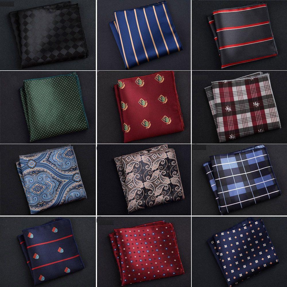 Womens Fashion Handkerchiefs Tropical Palm Leaves Square Silk Party Handkerchiefs