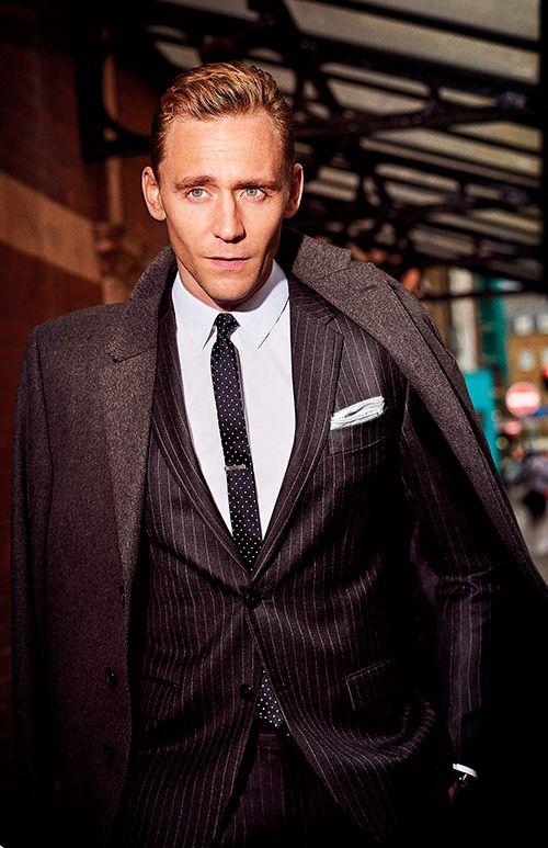 GQ Magazine. Tom Hiddleston Wears the Sharpest Business Suits of the Season. Photographs by David Burton. Full size image: http://ww3.sinaimg.cn/large/6e14d388gw1ex5pw240kfj21571jktq6.jpg Source: http://www.gq.com/gallery/tom-hiddleston-suit-photos#1 Via Torrilla, Weibo