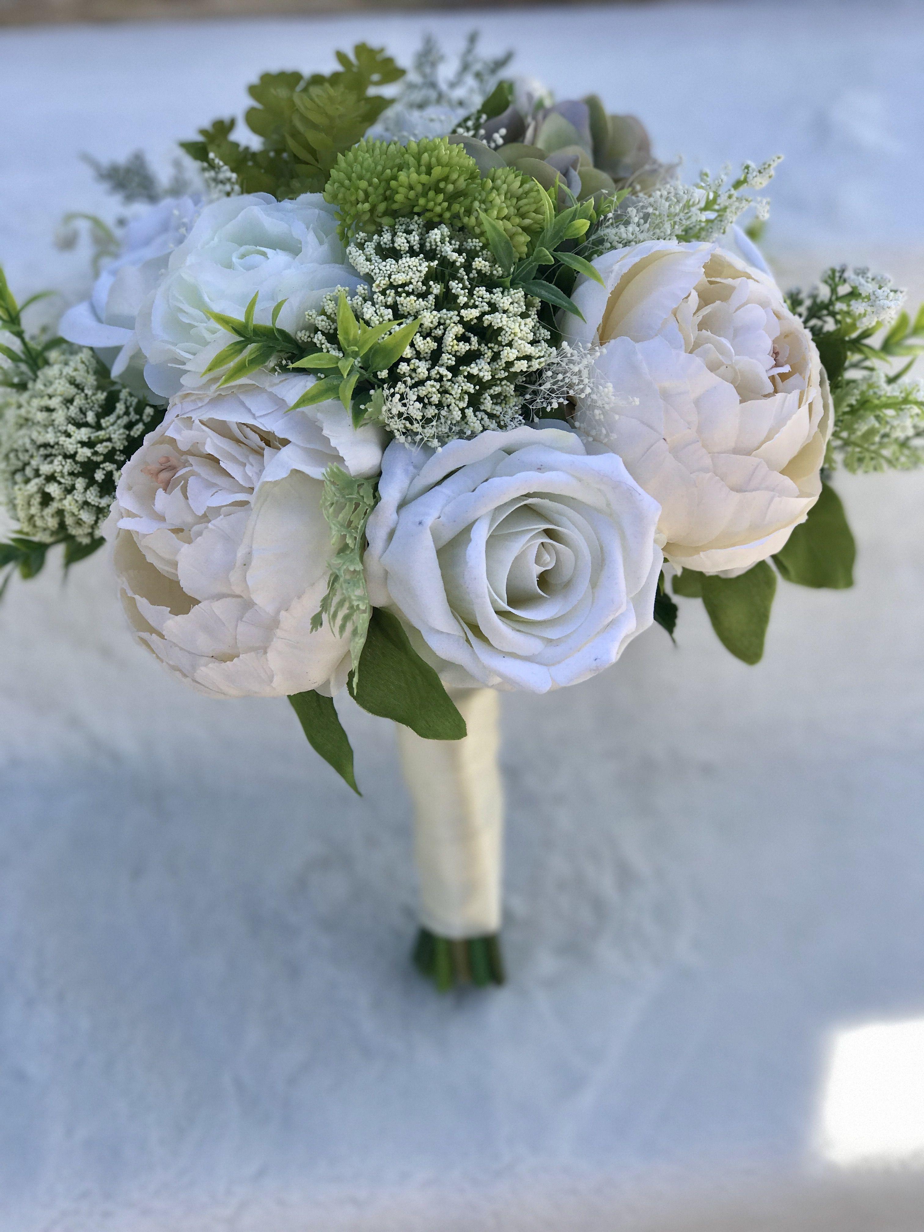 Silk Wild Clutch High Quality Realistic Silks Peonies Roses