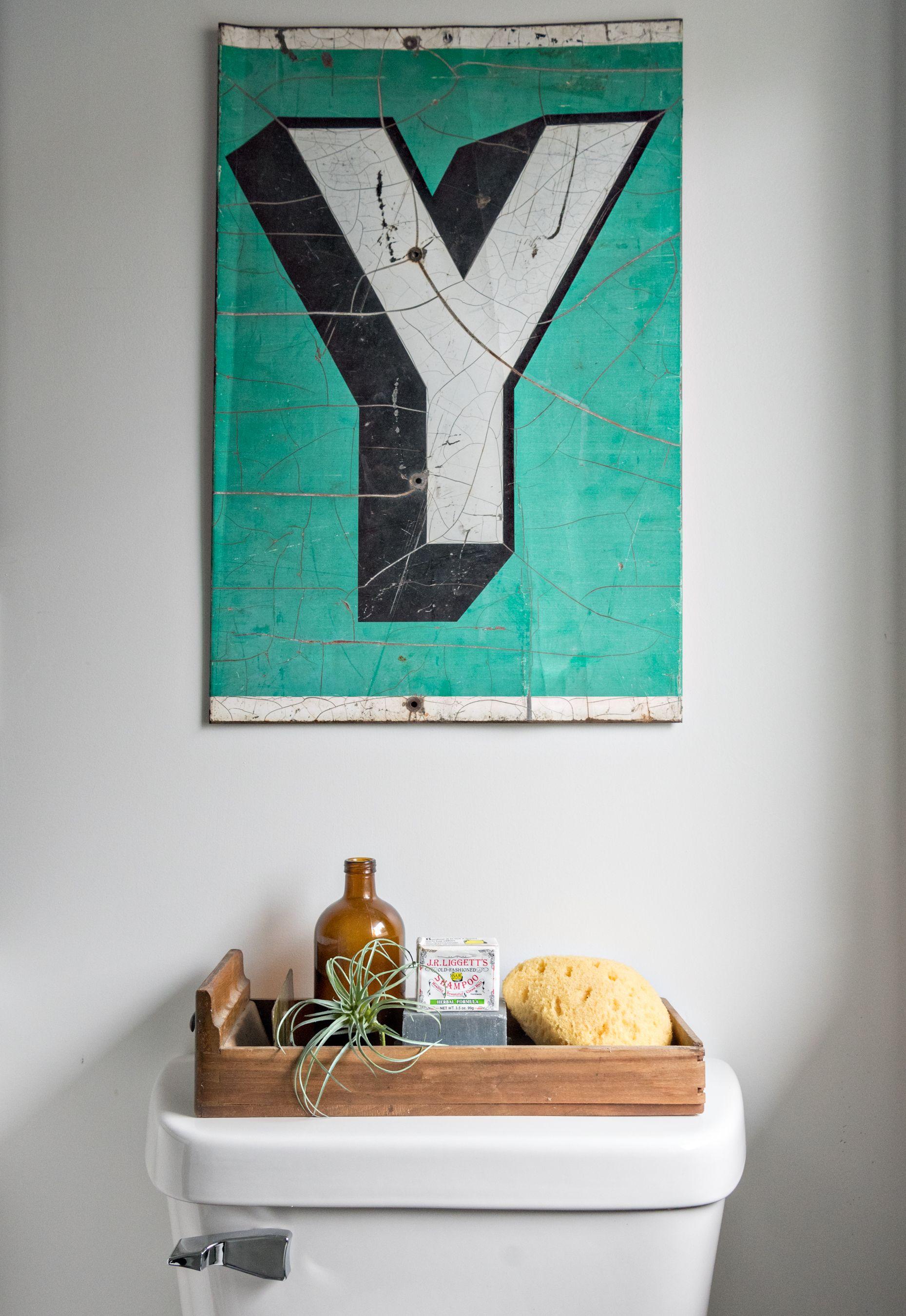 2ndstflip Bathroom Final Reveal Pop Design Interior Home Decor