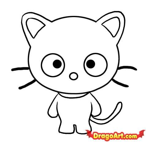 How to Draw Chococat, Step by Step, Characters, Pop Culture, FREE - fresh keroppi coloring pages free to print