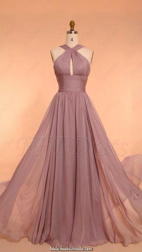 Vestidos para ser la dama de honor más hermosa de la boda