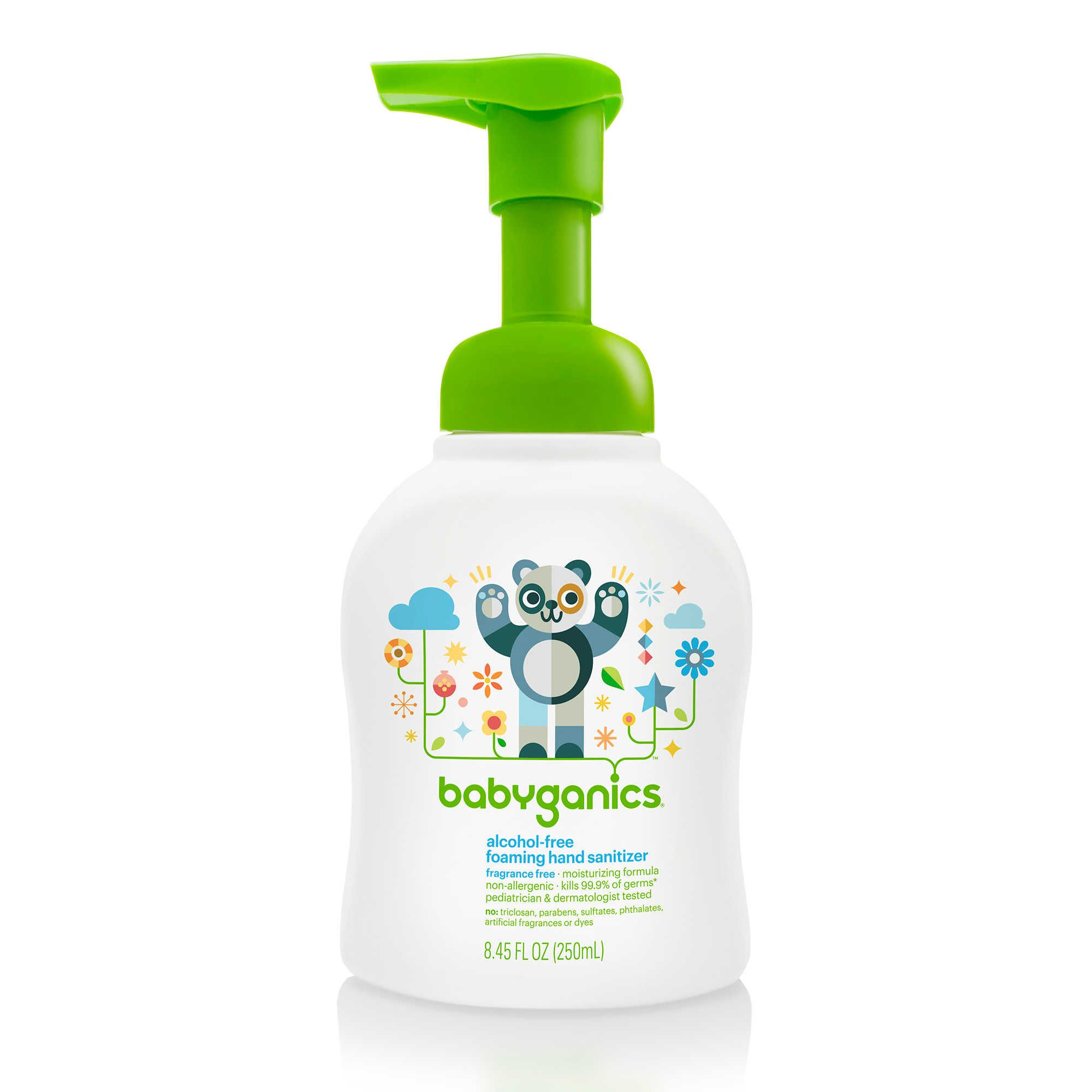Babyganics 8 45 Oz Fragrance Free Alcohol Free Foaming Hand
