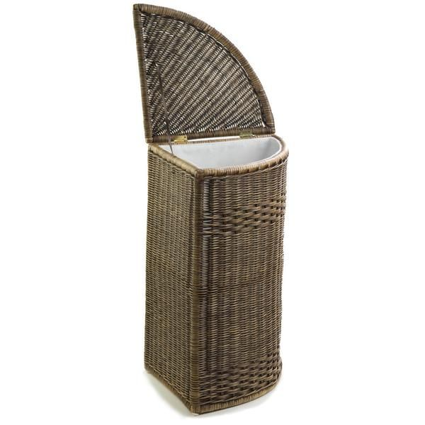 Corner Wicker Laundry Hamper Wicker Hamper Laundry Hamper