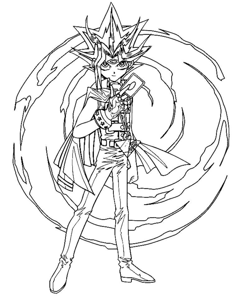 Yugioh Dark Magician Coloring Pages Pdf Coloring Pages Free Coloring Pages Cartoon Coloring Pages