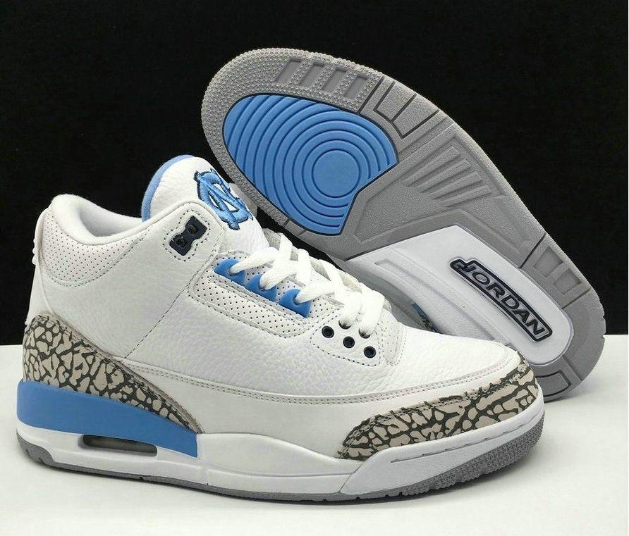 buy popular 24636 23e8b Wholesale Air jordan 3 Retro UNC Basketball Shoes