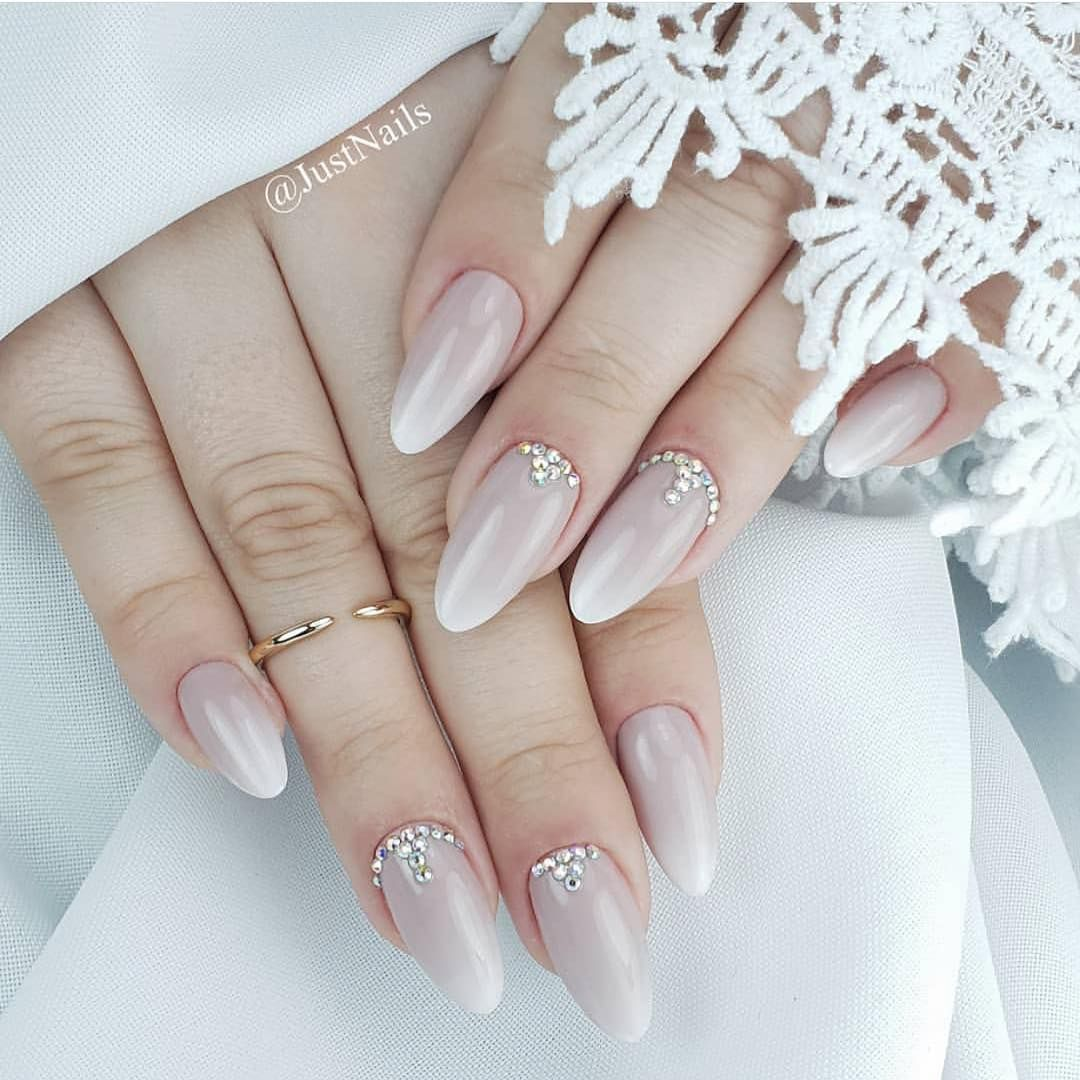 100 Beautiful wedding nail art ideas for your big day ...