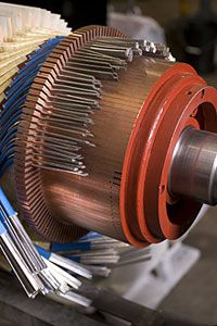 Rotor Repair Electric Motor Winding Pinterest
