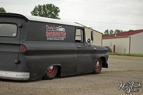 Buy Used 1962 Chevy C10 Panel Truck Suburban Air Ride Hot Rat Rod Panel Truck Chevy Chevy C10