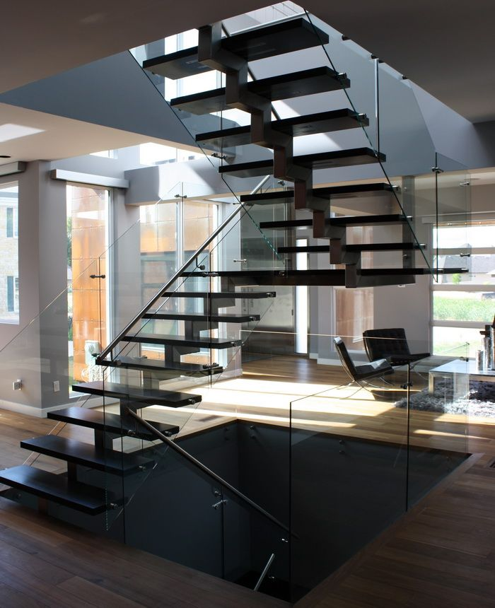 Ssg Notion Winnipeg Stairs Stainless Steel Stringer