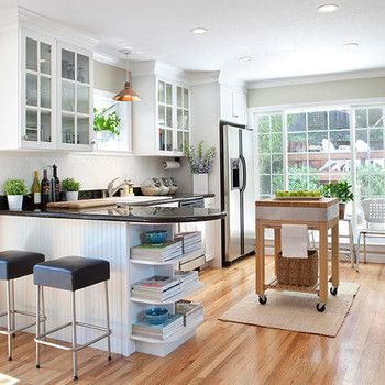 20 Sensational small space kitchen islands leaving you inspired
