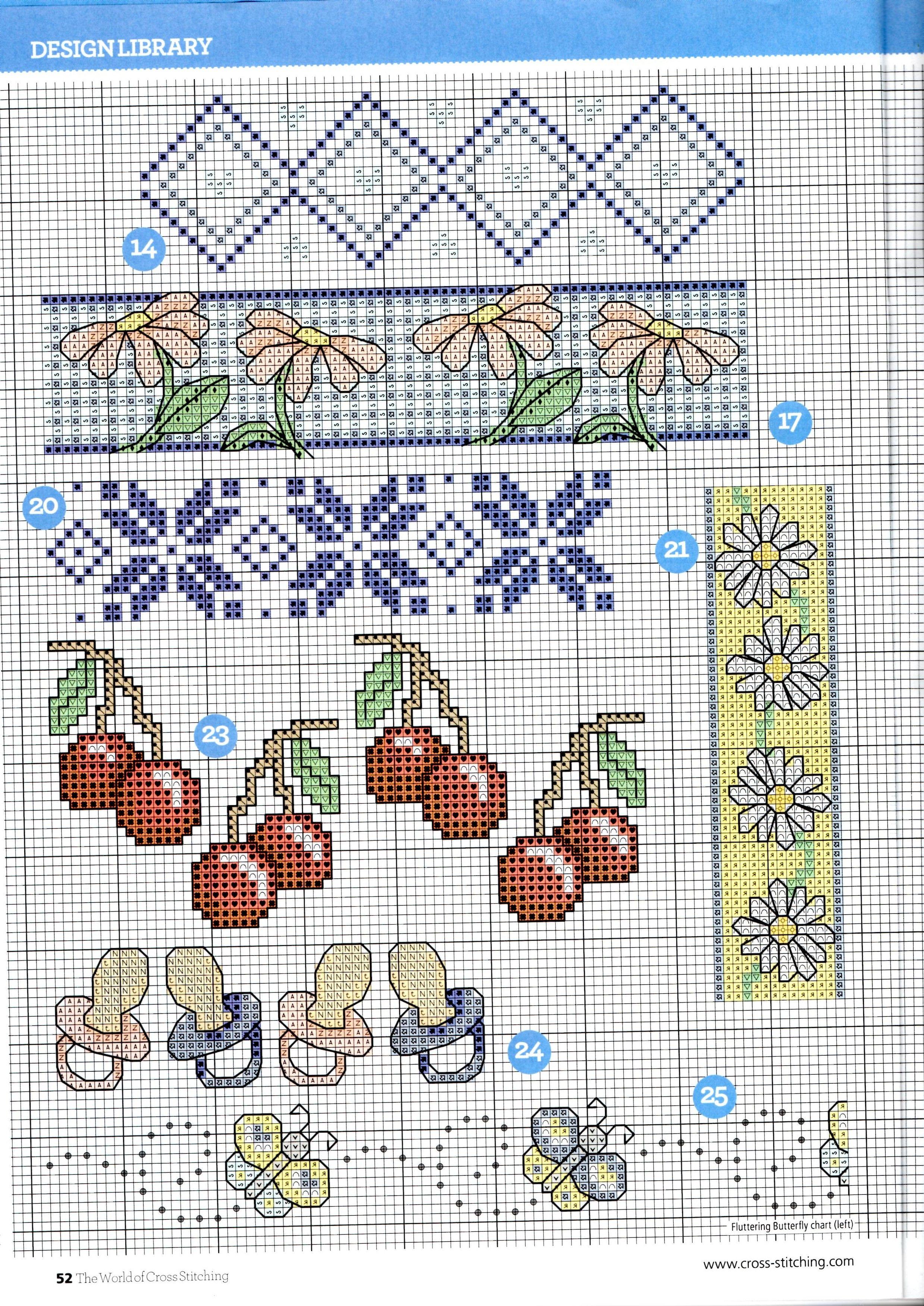 twocs_214_52.jpg | hand maded | Pinterest | Cenefas, Punto de cruz y ...