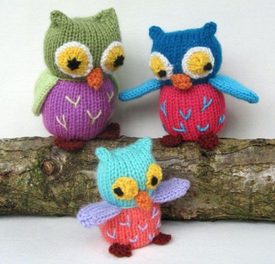 Knitted Owls Patterns Pinterst Top Pins Cutest Ideas Knitted Owl