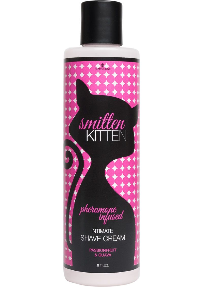 SMITTEN KITTEN BODY SHAVE PASSION 8OZ - Smitten Kitten is our pheromone  infused intimate shaving cream that leaves skin smooth, ultra hydrated, ...