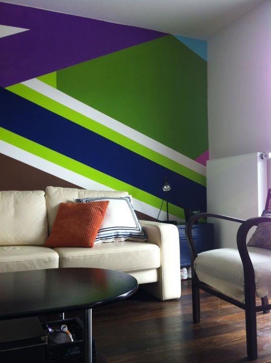 Ideen für Wandgestaltung im Jugendzimmer, die im Trend liegt