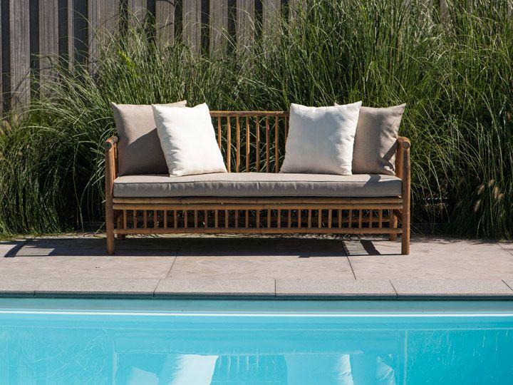 Perfect Exotan Bamboo Garten Sitzbank Sitzer Bambus