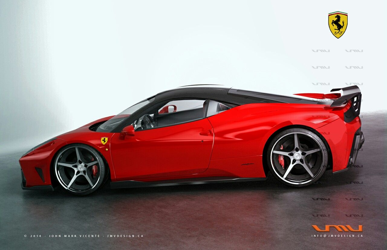 Ferrari 458 italia f66 gt