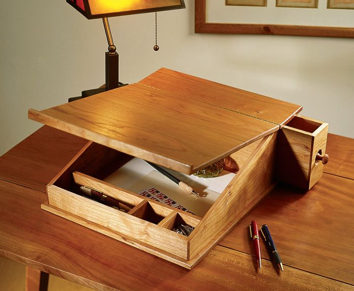 Portable Writing Desk Popular Woodworking Magazine Popular Woodworking Diy Woodworking Woodworking Furniture