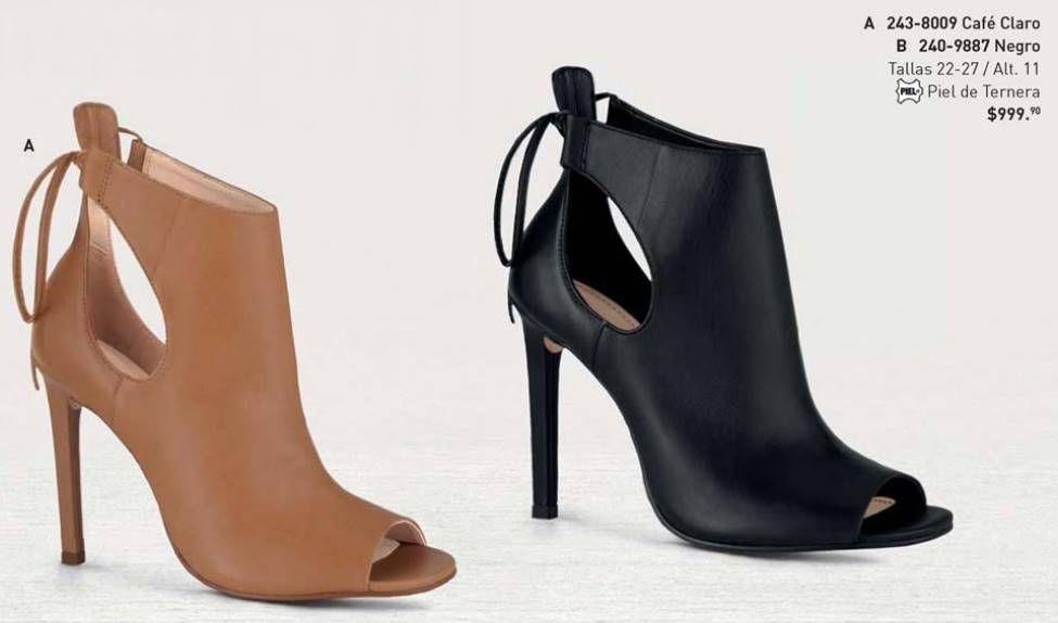 Zapatos negros de punta abierta formales CafèNoiR para mujer gBIsDbtO