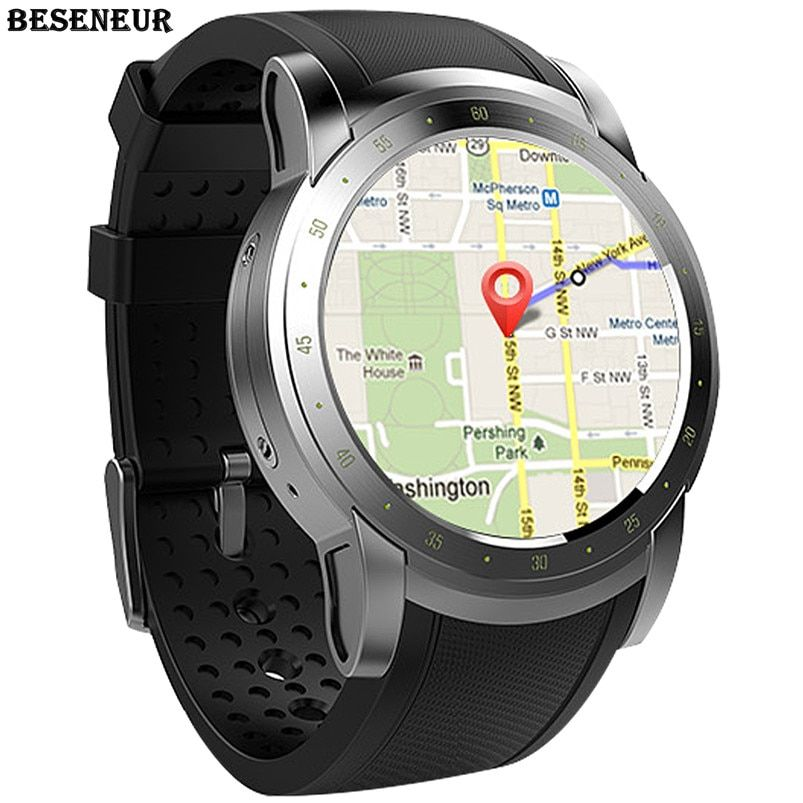 a7432321d Beseneur GPS Smart Watch Men with WIFI Heart Rate Monitor Passometer Watches  Sim Card Bluetooth Smartwatch for IOS Android Phone Review