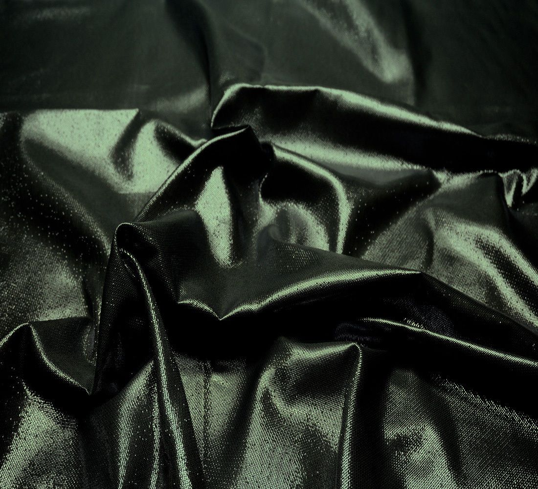 "Black Metallic Sparkle Stiff Fabric 44""W Bty Decor Craft Drape"