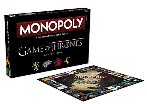Monopoly Game Of Thrones Board Game Game Of Thrones Merchandise Game Of Thrones Gifts Board Games