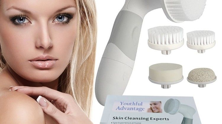 Youthful Advantage Best Facial Cleansing Brush Skin Cleansing