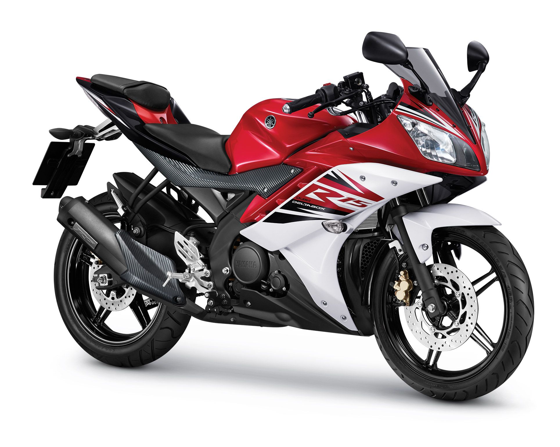 Yamaha Yzf R15 Red 2014 Yamaha Yzf Motorcycles In India