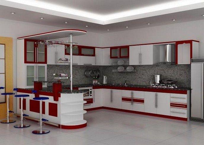 Cocinas modernas muebles | planos roco | Pinterest | Cocina moderna ...