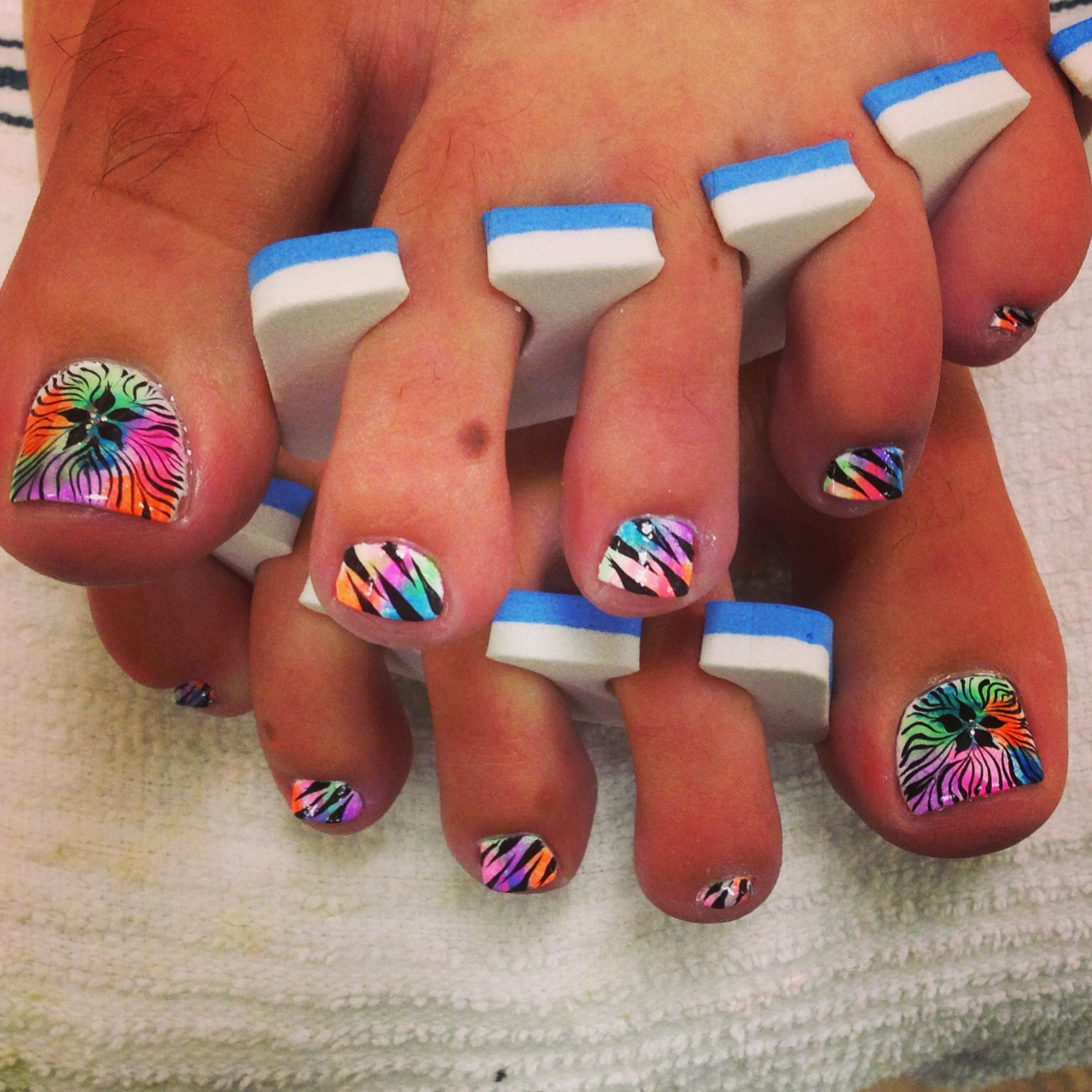 cute toes nails design | Pedicure Designs | Pinterest | Toe nail ...