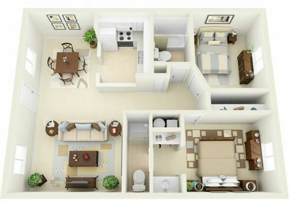 bedroom floor plans apartment plan one house also pin by yaya rose on  apartments small rh pinterest