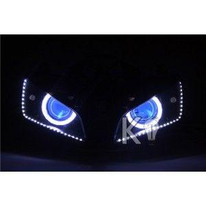 Honda Cbr600rr Custom Headlight Assembly Honda Cbr600rr Angel Eye