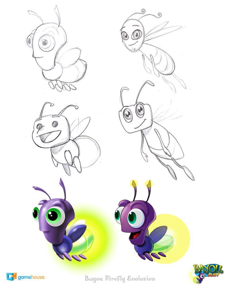 Cartoon Firefly Bing Images Vagalumes Desenho Desenhos