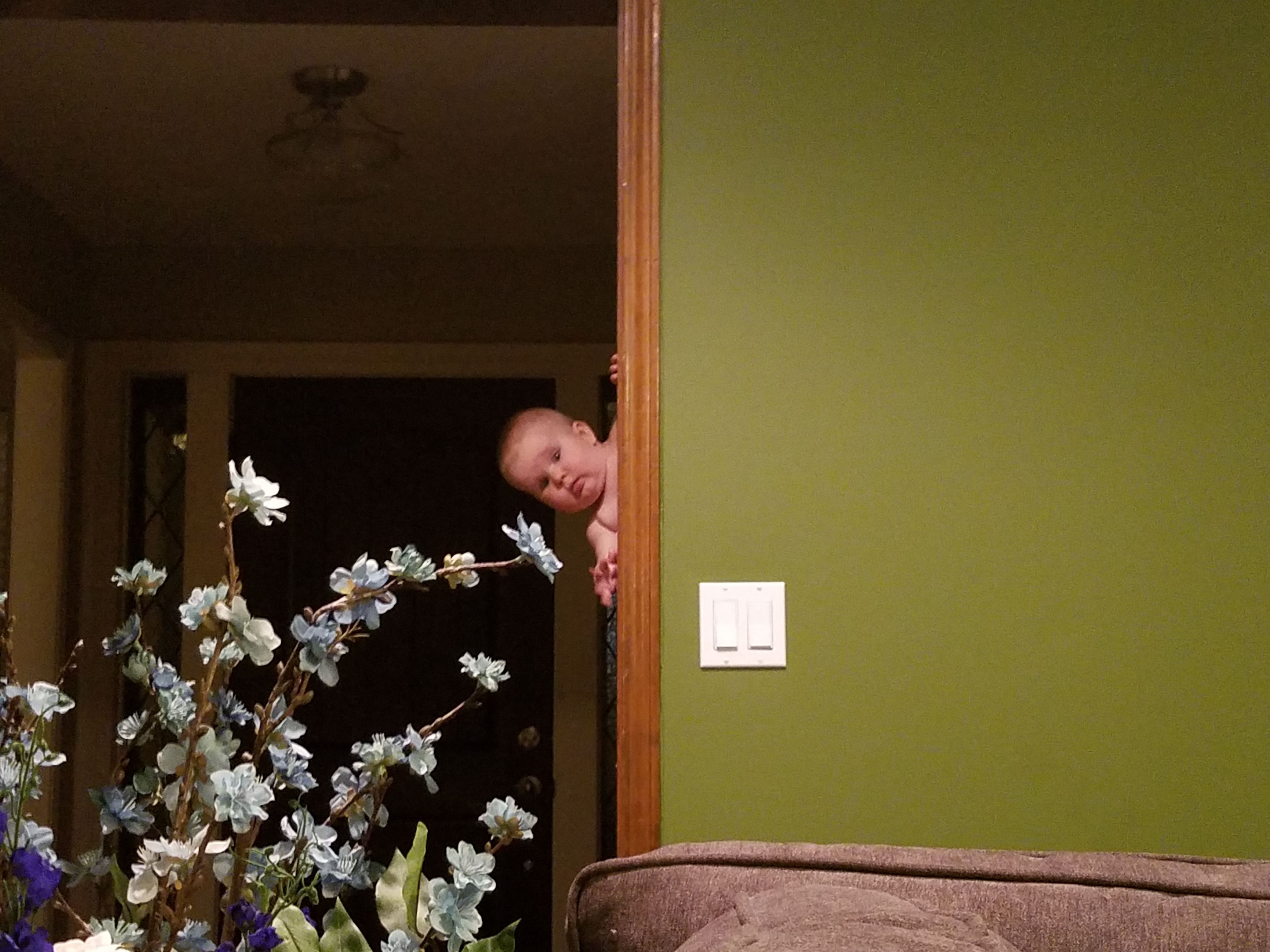 Daddy spying on me