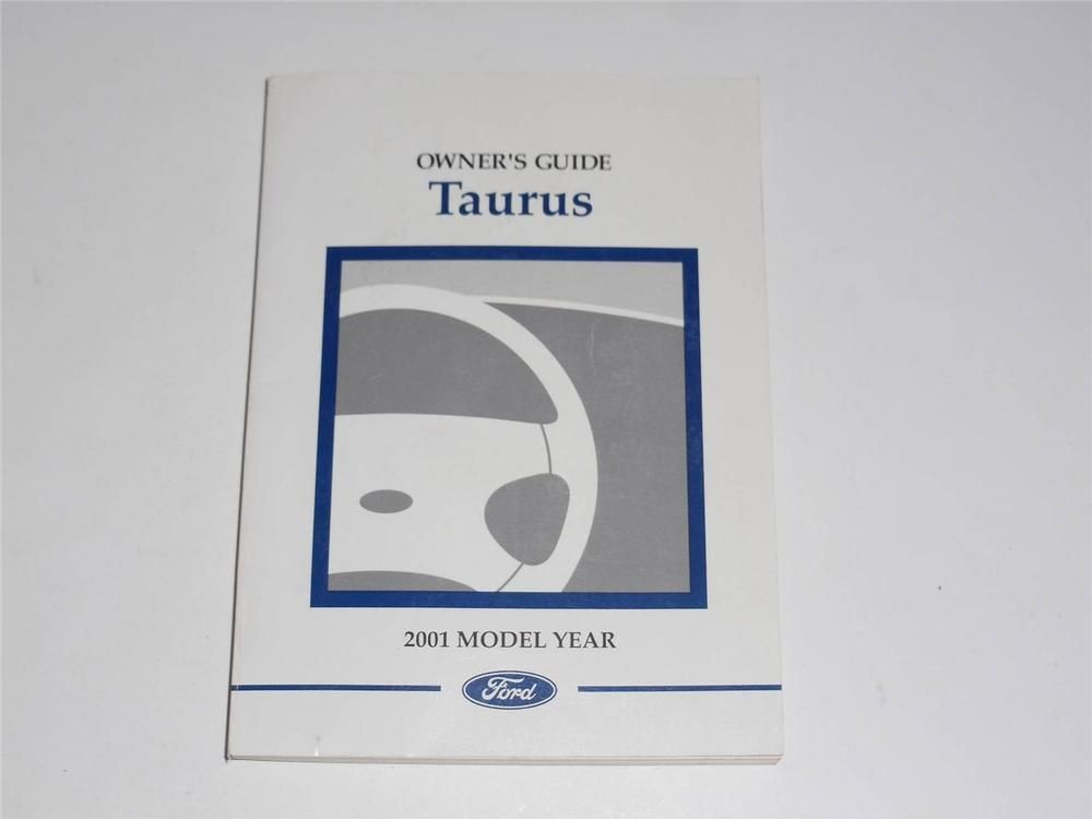 ford taurus owners manual book owners manuals