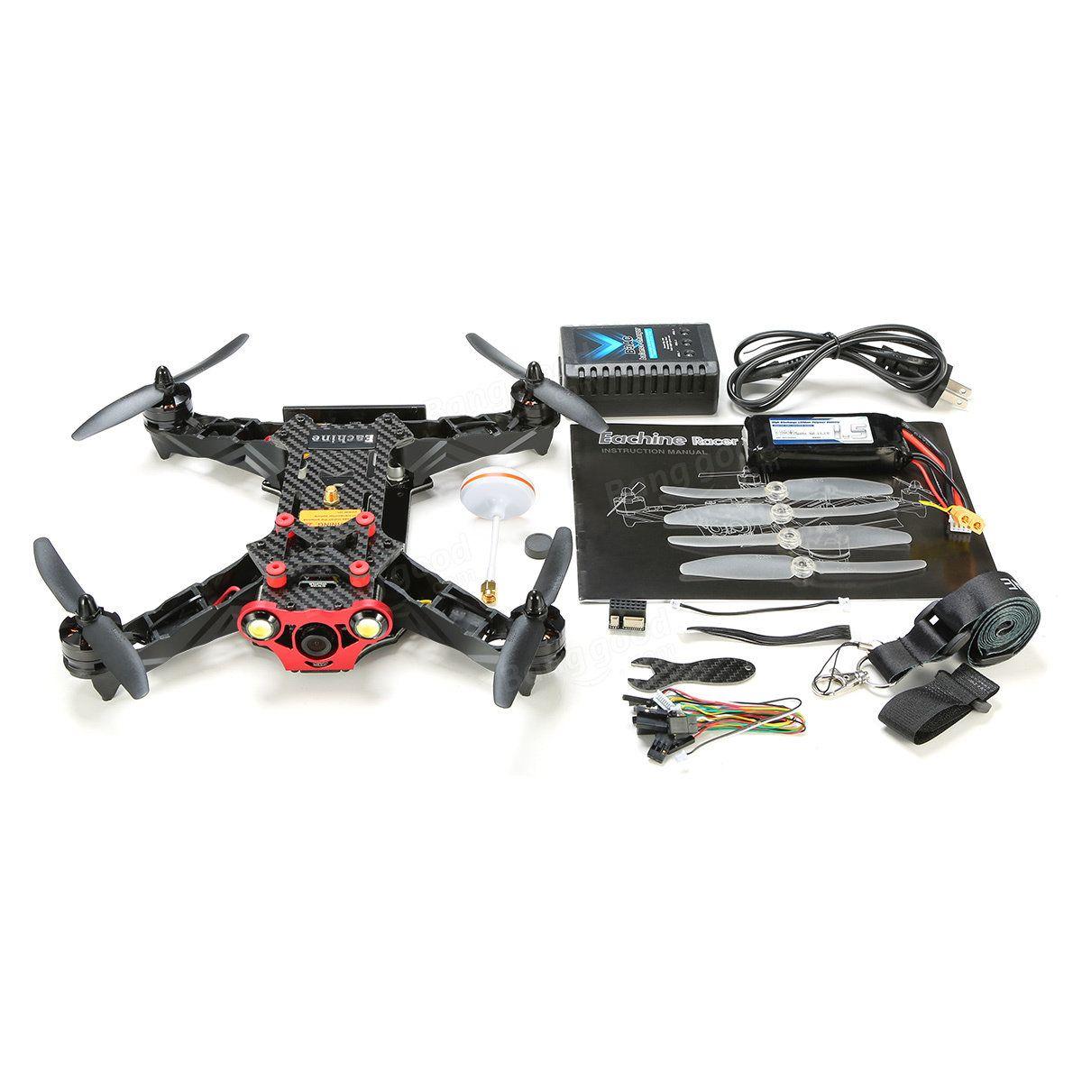 Eachine Racer 250 FPV Drone gebaut 5.8G Sender OSD Mit HD Kamera ARF ...