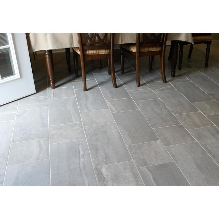 style selections skyros gray 12 in x 24