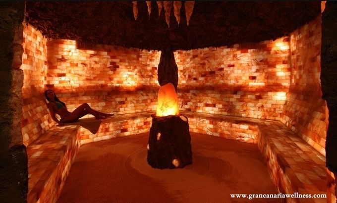 Incroyable Mur En Sel Rose D Himalaya Lampe De Sel Sel De L