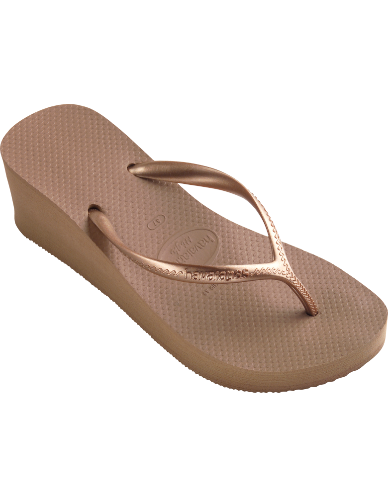 fd43989d3bd61f Havaianas Wedge in Rose Gold  38