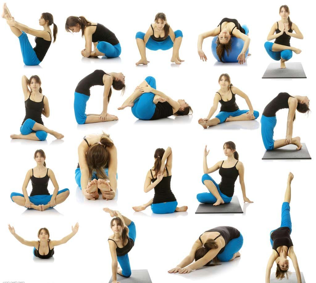 Yogaposesjpg Fitness Pinterest Binge Eating - Best yoga posesasanas for quick weight loss